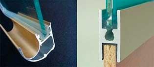 , Конструкция раздвижных дверей шкафа-купе
