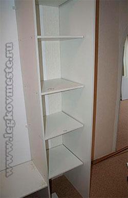 Сборка углового шкафа-купе