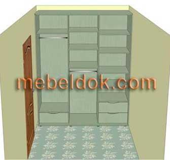 Выбор места под шкаф